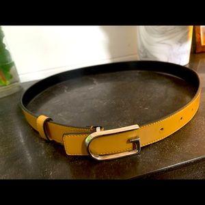 Authentic Gucci Tan Leather Belt